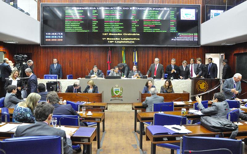 Resultado de imagem para assembléia legislativa do estado da paraíba a noite plenario