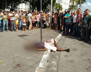 Homem assassinado