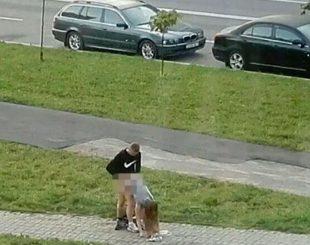 casal na rua