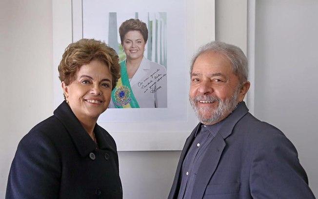 Lula, Dilma e Ciro nas águas do São Francisco