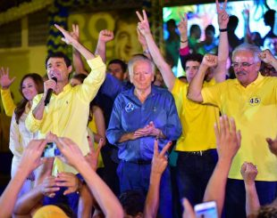 Romero Rodrigues durante convenção do PSDB (Crédito: Reprodução/Facebook)
