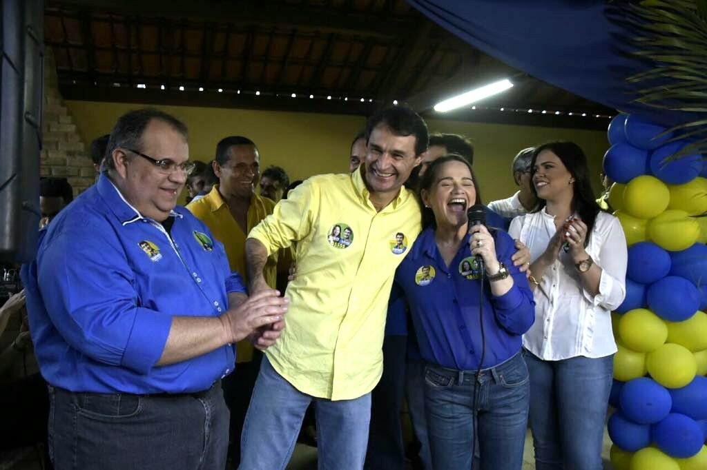 Rômulo intensifica atividades de campanha em CG, no Brejo e Cariri