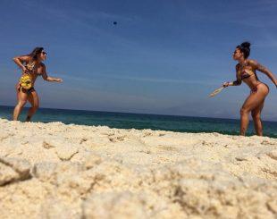 Aila Maronna e Aline Riscado (Foto: Reprodução / Instagram)