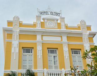 Hotel Globo, no Centro Histórico de João Pessoa