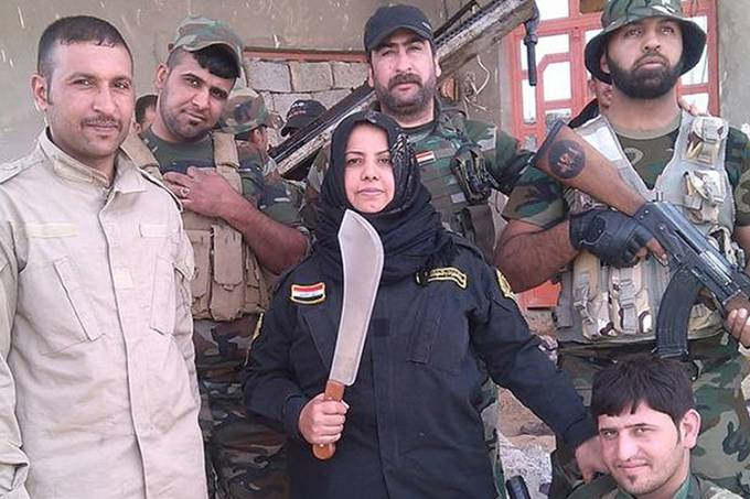 Dona de casa cozinha cabeças de 'jihadistas'
