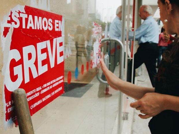 Greve nos bancos fragiliza comércio, diz FCDL