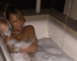 mariah-carey-posa-pelada-enquanto-toma-banho-de-banheira