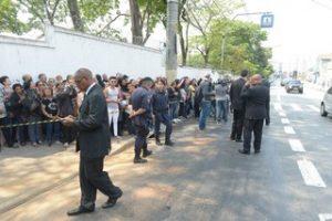 Enterro Domingos Montagner (Foto: Thiago Duran/ Ag. News)