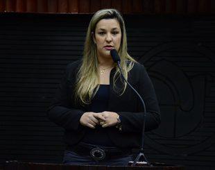 Deputada estadual Camila Toscano, do PSDB
