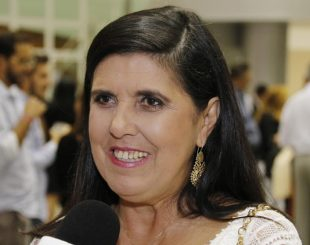 Lígia Feliciano, vice-governadora da Paraíba