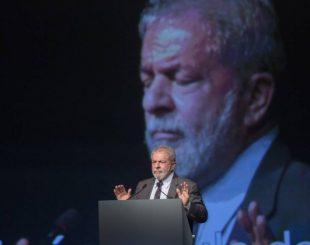 Lula participa de conferência internacional se sindicalistas no Rio - Antonio Scorza / Agência O Globo