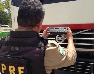 Operação foi realizada por agentes da PRF na Paraíba