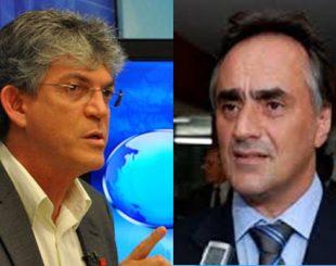 Ricardo Coutinho e Luciano Cartaxo