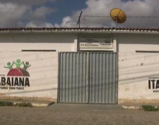 Escolas em Itabaiana estão sem aulas - Foto reprodução TV Cabo Branco