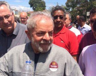 Ex-presidente Lula, do PT