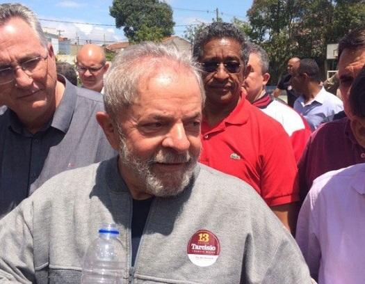 Lula diz que urna não é lugar para depositar ódio