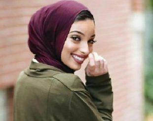 Jornalista americana Noor Tagouri se tornou primeira mulher muçulmana a posar para a revista Playboy usando véu (Foto: Reprodução)