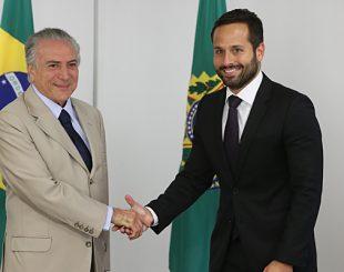 Michel Temer e Marcelo Calero