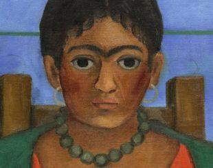 A 'Niña con collar', de Frida Kahlo, será leiloado dia 22 de novembro - AP