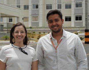 Paula Larissa e Mateus Alves