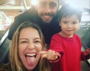 Luana, Scooby e Dom: família reunida novamente