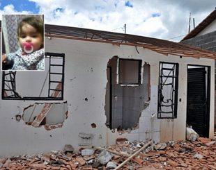 Criança de 2 anos foi morta pela mãe na noite de domingo (13) em Lavras (Foto: Eduardo Cicarelli / Jornal de Lavras)