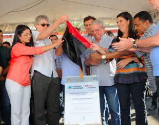 Solenidade de inauguração reuniu auxiliares do governador Ricardo Coutinho