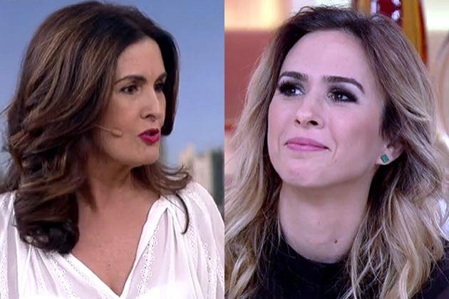 Tatá Werneck deixa Fátima Bernardes em 'saia justa' no 'Encontro'