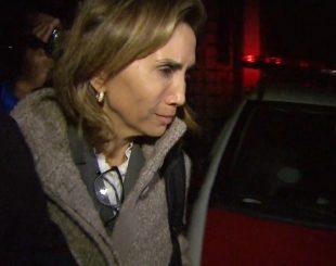 Prefeita Dárcy Vera em depoimento na Procuradoria Geral do Estado em SP (Foto: Reprodução/EPTV)