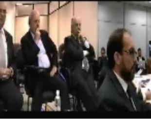 Lula durante depoimento a Sergio Moro- Foto: reprodução TV Uol