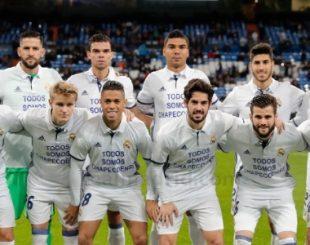 Jogadores do Real Madrid fazem homenagem à Chapecoense -0 ÁNGEL MARTÍNEZ/Real Madrid