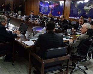 Audiência entre Temer e bancada federal da Paraíba