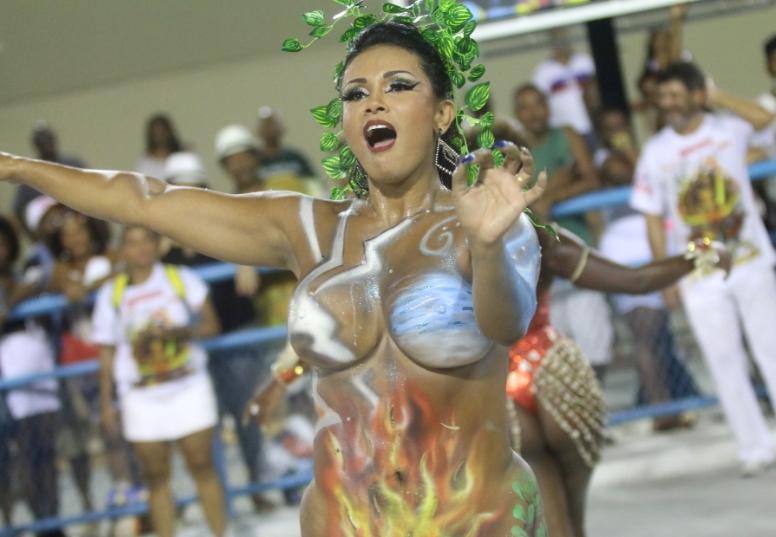 Musas do Carnaval de SP - 14/03/2019 - Cotidiano