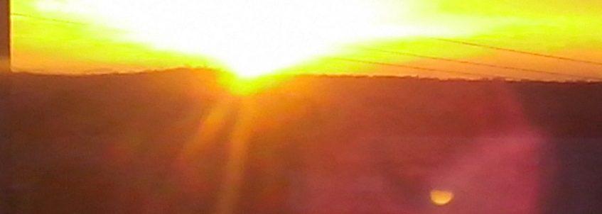 Pôr do sol em Marizópolis