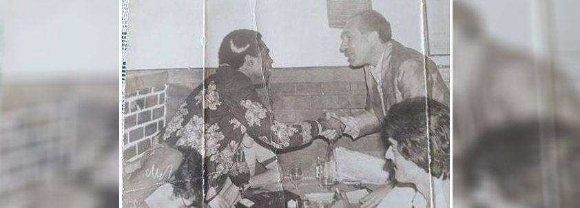 Gilberto Gil e Raimundo Asfora, em Campina Grande