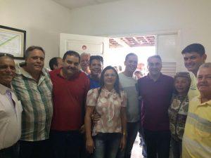 Resultado de imagem para Cartaxo visita Mamanguape e é recebido por lideranças políticas