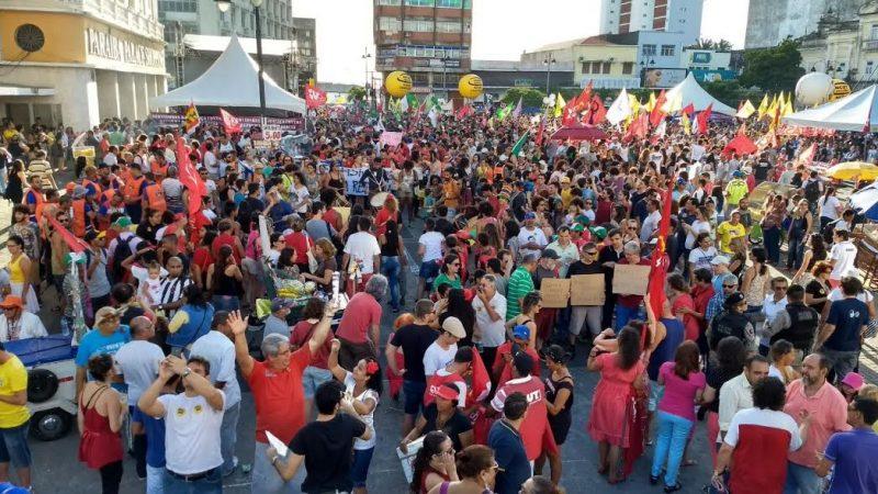 Entidades mobilizam servidores em protesto contra reforma da previdência em Porto Velho