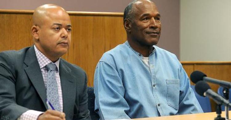 OJ Simpson vai sair em liberdade condicional após nove anos na prisão