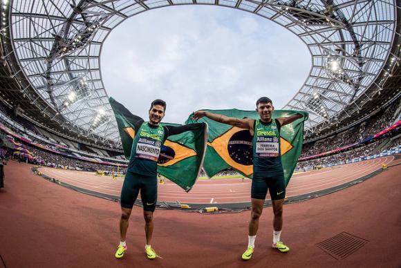 Alagoano Yohansson fecha o Mundial de Atletismo com duas medalhas