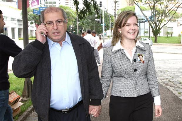 Delação no MPF aponta esquema de propina para Gleisi Hoffman e marido
