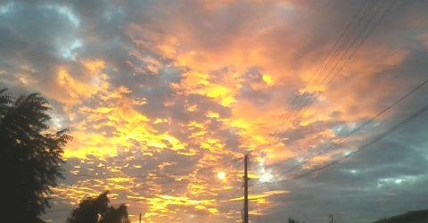 Pôr do Sol em Barra de Santa Rosa
