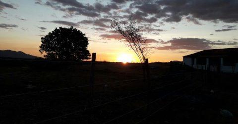 Pôr do Sol em São José da Lagoa Tapada