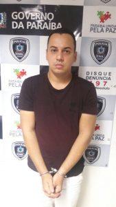 Thiago Leão, guarda municipal de Recife envolvido com a organização criminosa.