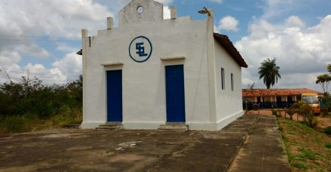 Igreja de Santa Luzia, em Areia
