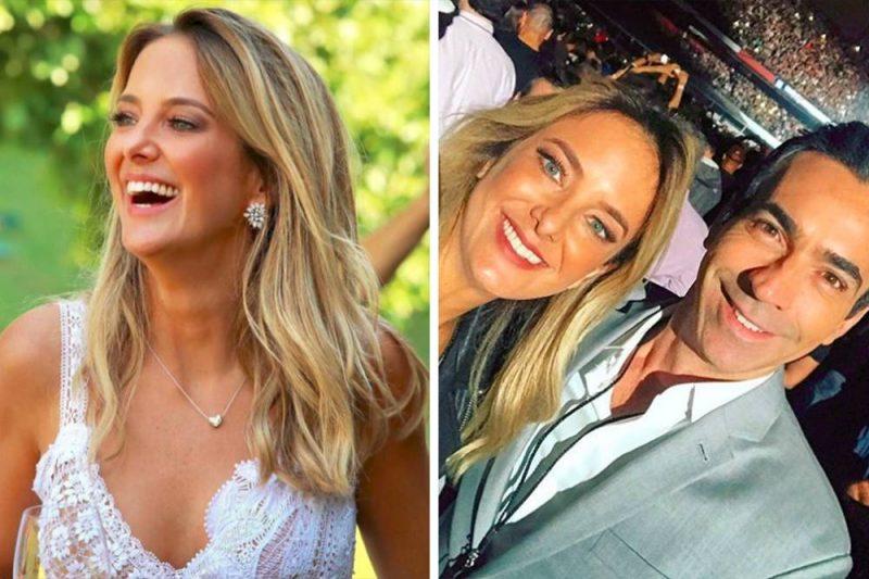 Discretos, Ticiane Pinheiro e César Tralli já se casaram no civil