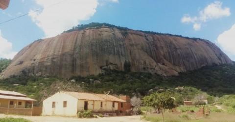 Serra da Rajada em Brejo dos Santos, Paraíba