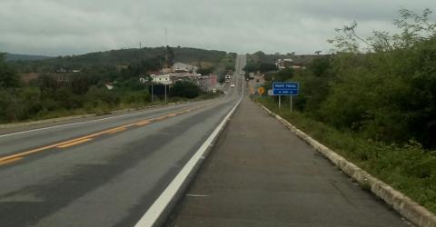 BR-104 em Alcantil, Paraíba