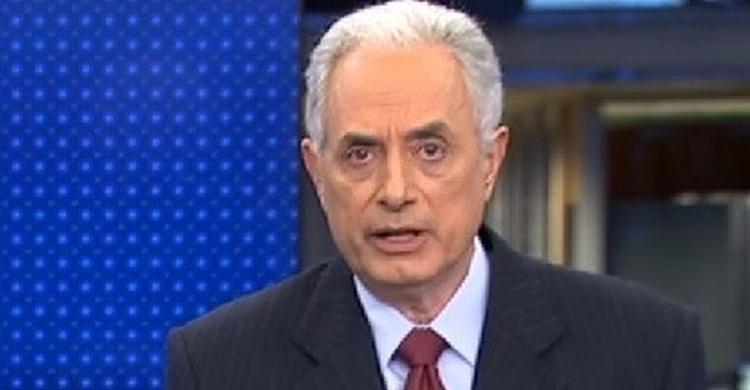 Acordo de demissão de William Waack custou 3,5 milhões à Globo