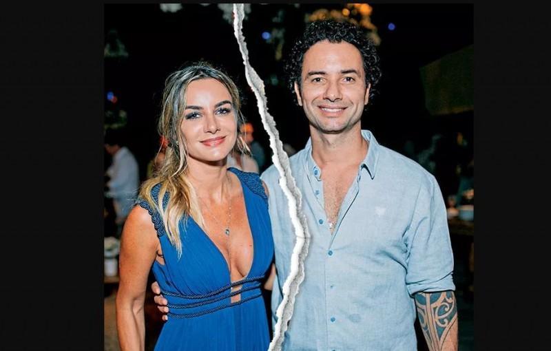 Marco Luque termina o casamento de 7 anos com Flavia Vitorino