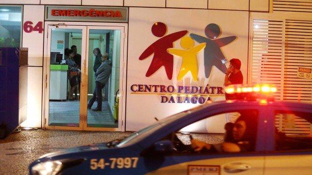 Bebê atingido por bala perdida no Rio de Janeiro passa bem